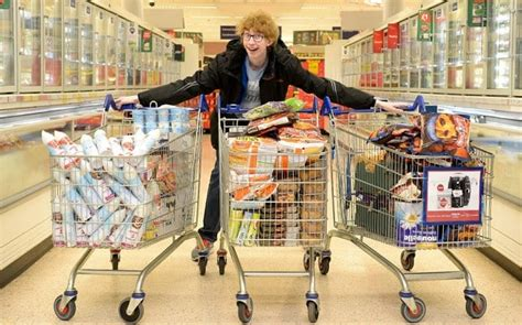 teenager buys 163 600 worth of shopping for 4p and donates