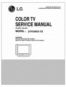 Lg Mc059c Chassis 21fs4rg Tv Sm Service Manual Download