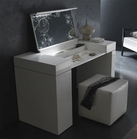 white modern bedroom vanity photolizer furniture and makeup tables