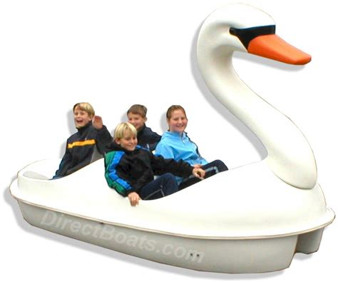 4 Person Pedal Boat by Four Person Swan Pedal Boat