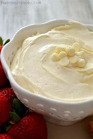 White Chocolate Marshmallow Dip