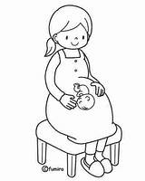 Coloring Pages Pregnant Woman Printables Coal Mom Printable Miner Print Template Pregnancy Coloringbook4kids Info Sheets γιορτή μητέρας της Para Getdrawings sketch template