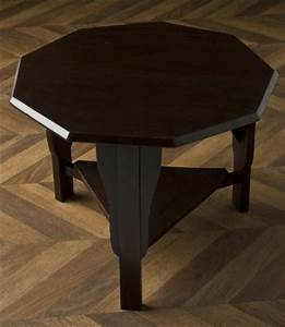 Table Basse Retro : table basse vintage octogonale en pin meuble ancien unique ~ Teatrodelosmanantiales.com Idées de Décoration