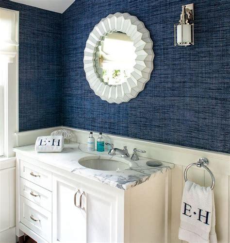 hamptons mansion love  textured dark blue wallpaper