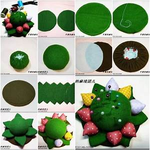 How To Make Flower Pincushion Step By Step Diy Tutorial