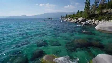 sand harbor beach lake tahoe nv dji phantom  youtube