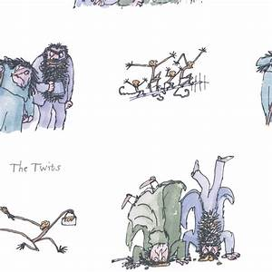 The Twits Fabric - Twits (TWITS) - Ashley Wilde Roald Dahl