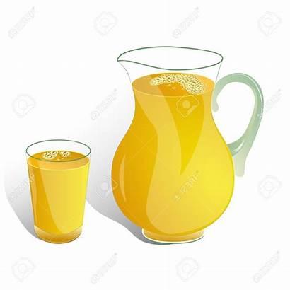 Juice Clipart Jug Jar Ewer Jarro Orange