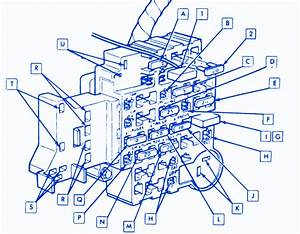 Chevrolet Caprice Brougham 1990 Engine Fuse Box  Block Circuit Breaker Diagram