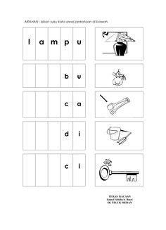 suku kata images preschool activities preschool