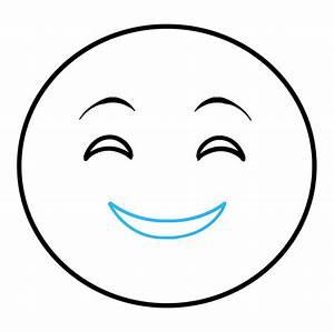 How to Draw Emojis: Happy Emoji - Really Easy Drawing Tutorial