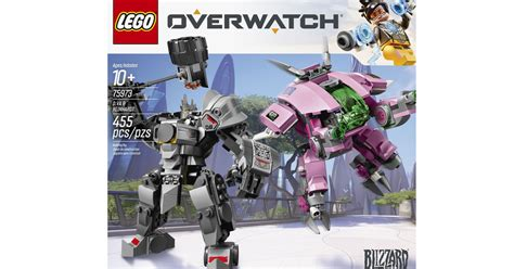 overwatch lego sets  verge