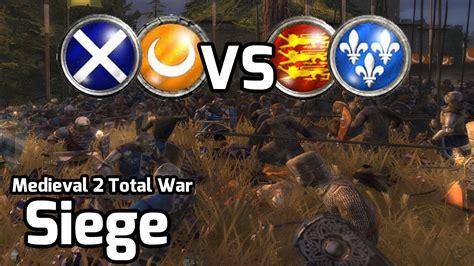 2 total war siege 2 total war battle 150 2v2 siege