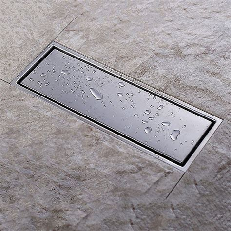 Dusche Mit Ablaufrinne by Linear Shower Floor Drain With Tile Insert Grate Made Of