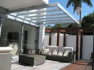 Glass roof Pergola Ideas Pinterest
