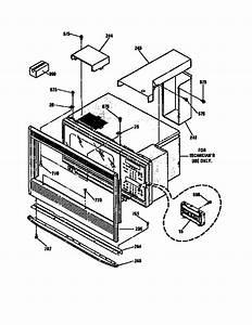 M  W Enclosure Section Diagram  U0026 Parts List For Model 91141475690 Kenmore