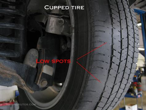 Tire Cupping On Inside