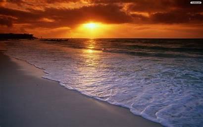 Sunset Beach Wallpapers Desktop Regular