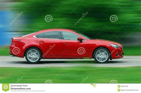 Moving Car Stock Photo. Image Of Design, Business, Modern