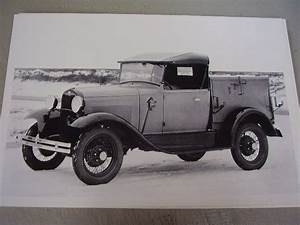 1930 31 Ford Model A Roadster Pickup Utility Body 12 X 18
