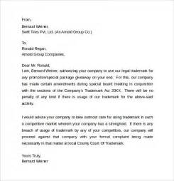 Legal Letter Template 8 Samples Examples Formats