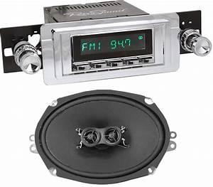 Retrosound Hermosa Radio W   6x9 U0026quot  Dvc Dash Speaker 1955