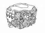 Parts Coloring Pages Engine Drawing Diagram Sketch Template Minor Morris Getdrawings Gearbox sketch template