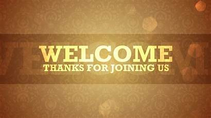 Welcome Wallpapers Church Backgrounds Slide Powerpoint Background