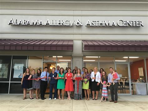 alabama allergy  asthma center hosts ribbon cutting