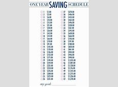 17 Best images about One Year Savings Plan on Pinterest