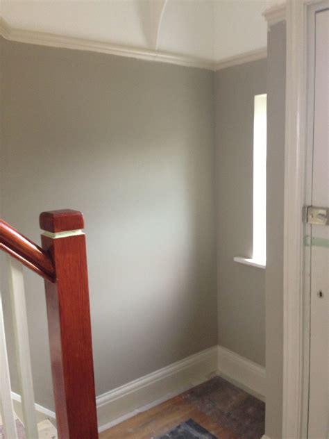 hall walls  dulux bleached lichen  paint colour
