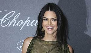 39Oops39 NSFW Kendall Jenner Goes Bra Less In Semi Sheer