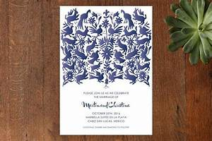 quototomiquot customizable wedding invitations in blue by With paper monkey wedding invitations