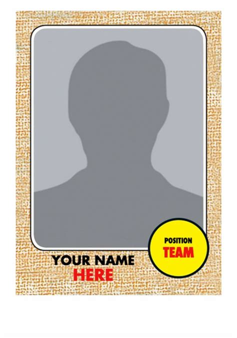 Baseball cards which featured a player who did not appear in a regular season game during. Baseball Card Size Template
