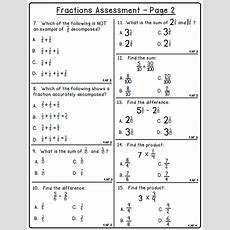 80+ Fraction Printables  Create Teach Share