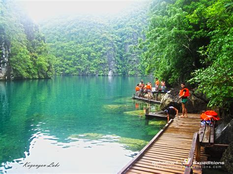 Kayangan Lake One Of The Cleanest Lake In The