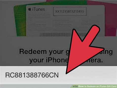 redeem  itunes gift card  steps  pictures