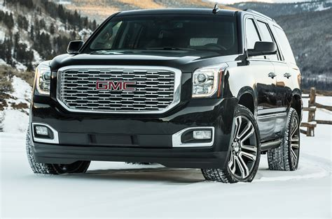 GMC Car : 2018 Gmc Yukon Denali First Drive Review