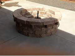 Pavestone Rumbletone Fire Pit Size Alterations  The Home Depot Community