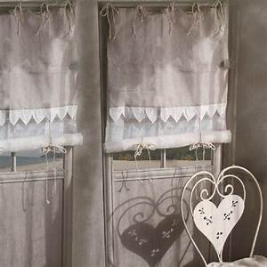 Rideau Toile De Jute : store coeur voile et toile de jute d coration ~ Teatrodelosmanantiales.com Idées de Décoration