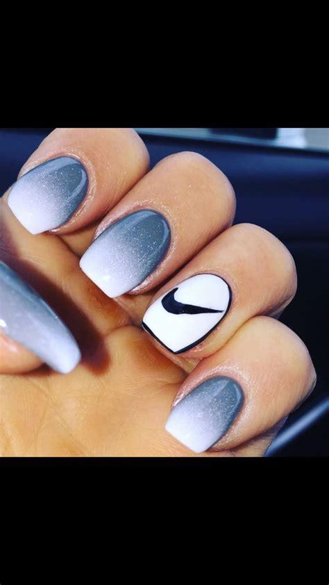 ombre nike nails makeup   nails nail designs