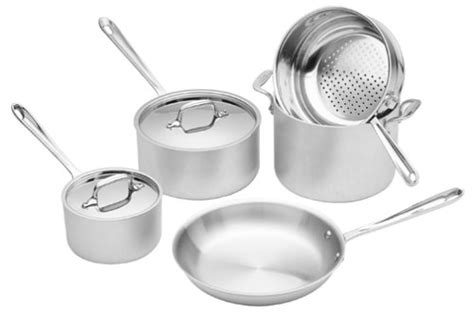 clad master chef  piece cookware cookwareset