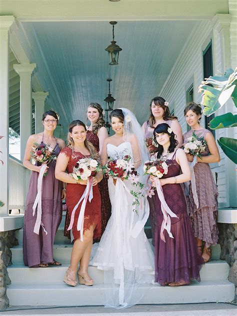 The Best Mismatched Bridesmaid Dresses to Make Your Ladies