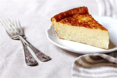 Tuscan Rice and Custard Torta (Torta di Riso alla