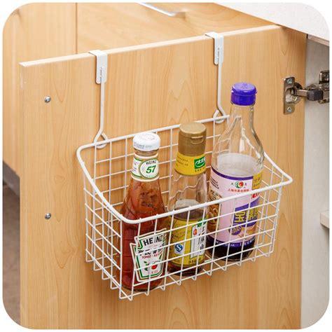 kitchen cabinet door  storage rack organizer