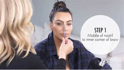 Kim Anastasia Kardashian Secrets Brow Eyebrow Soare