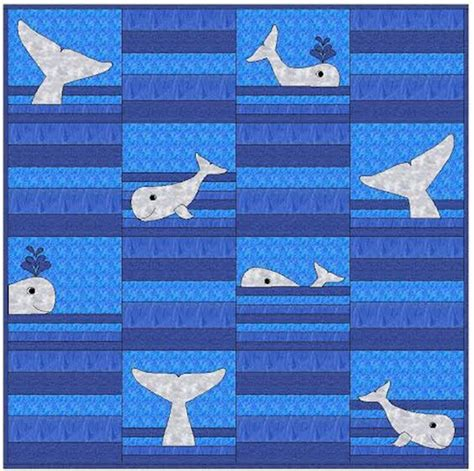 whale quilt pattern whale tails quilt pattern cls 118 advanced beginner wall
