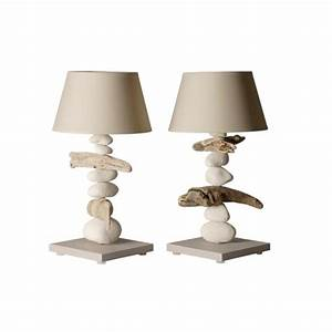 Lampe Chevet Bois Flotté : lampe de chevet bois flott lampe bois flott luminaire design ~ Teatrodelosmanantiales.com Idées de Décoration
