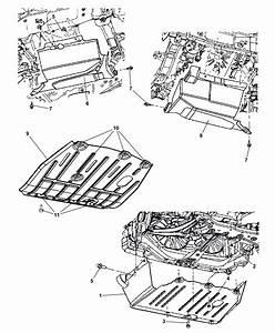2008 Jeep Patriot Underbody Shields  U0026 Skid Plates