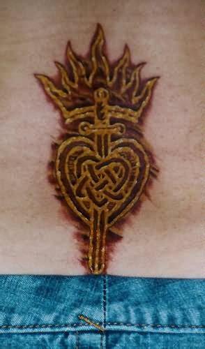 beautiful heart tattoo design